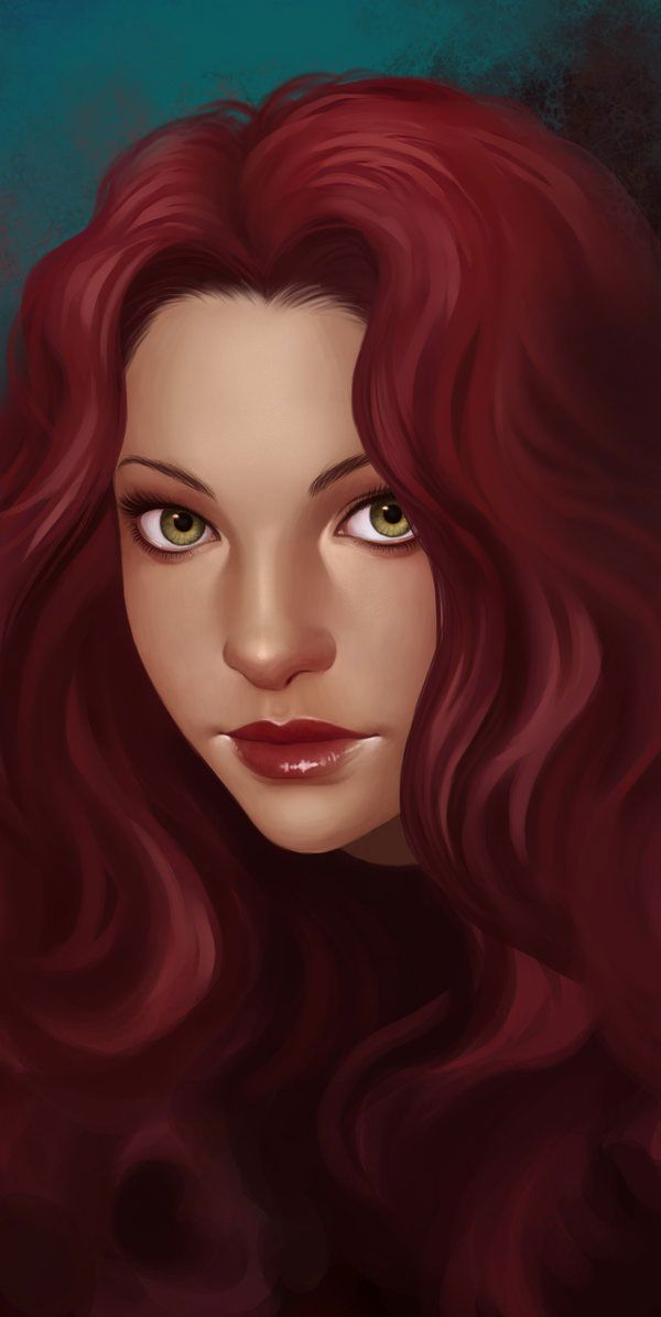 ✯ Artist Daniela Uhlig ✯: Uhlig Artworks, Red Hair, Faces Paintings Tutorials, Artists Daniela, Women Faces, Expressions Art, Redheads Envy, Danielauhlig, Red Art