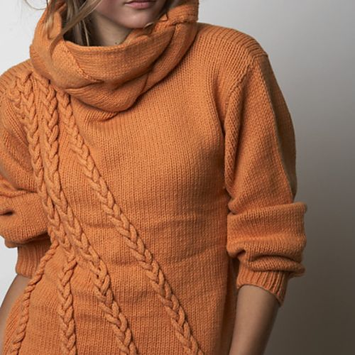 Knitted in Helen Hamann's LUXURY, 100% Superfine Alpaca in 3 strands of yarn held together throughout.