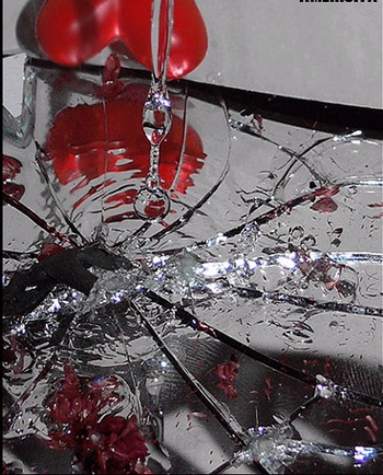 Image result for Christmas tree broken heart