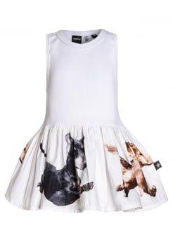 Molo - CORDELIA - Sukienka letnia - white