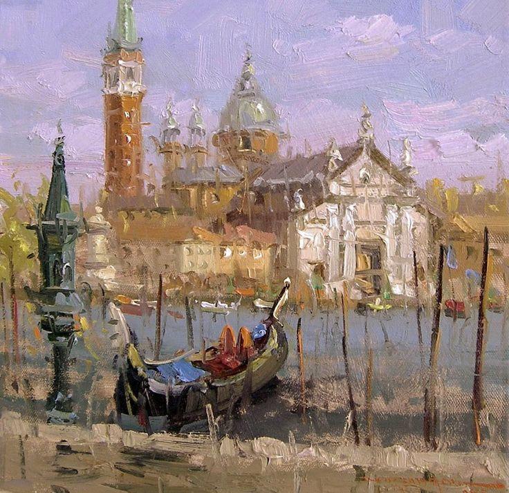 Mostafa Keyhani, 1954 ~ Impressionist painter