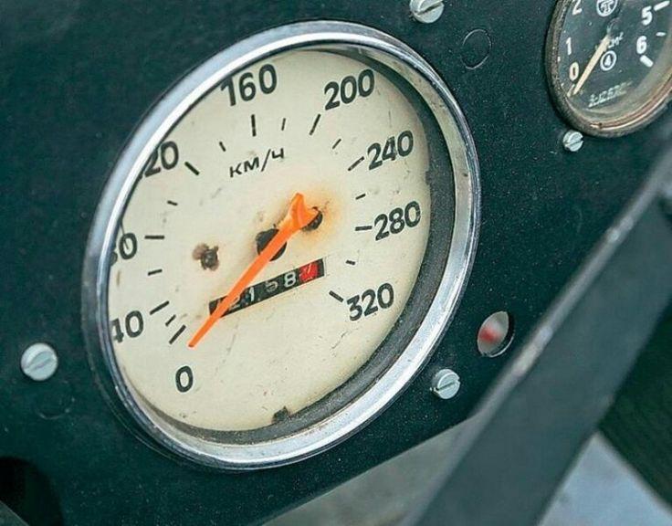 ZIL - 112, speedmeter, 60s, Soviet union