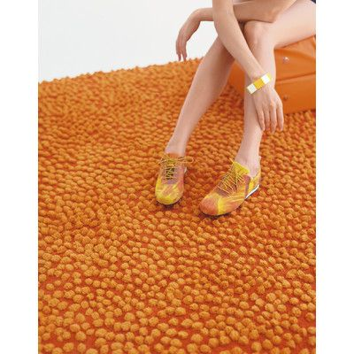 Nanimarquina Topissimo Simple Orange Area Rug | AllModern