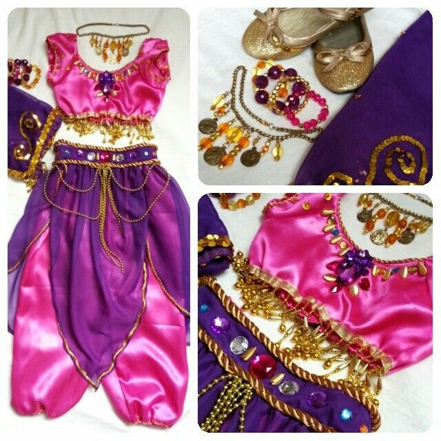 Arabian costume i made for my daughter for united nations #ilovehandmade