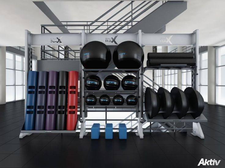 New Gym Storage solutions