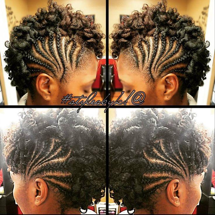 Cute curl hawk @kiabia87  Read the article here - http://www.blackhairinformation.com/hairstyle-gallery/cute-curl-hawk-kiabia87/