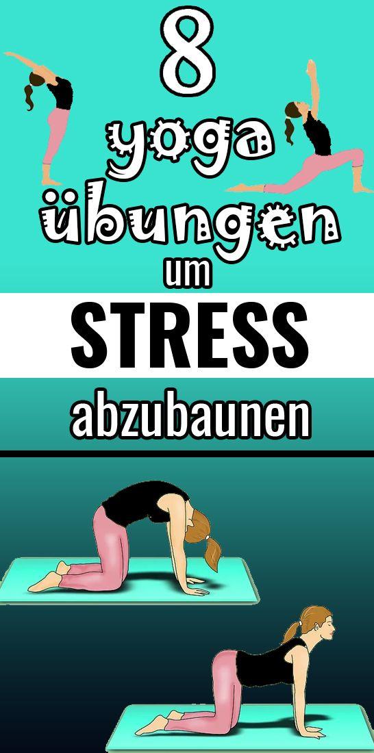 Befreien Sie sich vom täglichen Stress mit diesen einfachen Yoga Stellungen