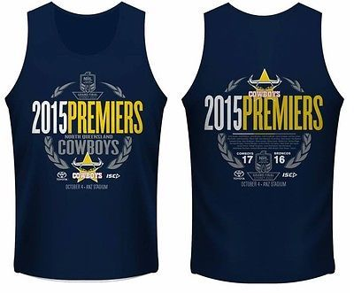 North-Queensland-Cowboys-NRL-2015-ISC-Premiers-Singlet-Sizes-S-3XL-In-Stock