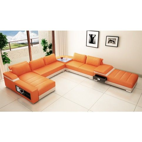 Orange Living Room Set