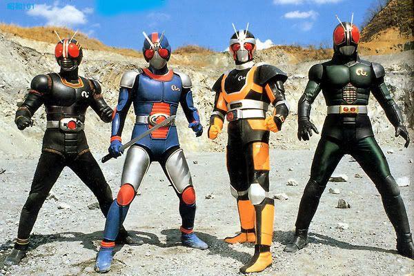 Black, Biorider, Roborider and RX