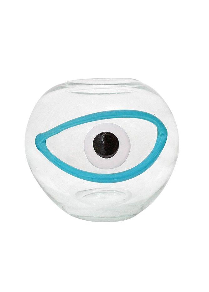 Μάτι φυσητό γυαλί | Eye blown glass