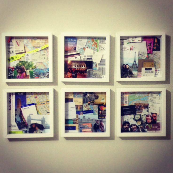 Travel Memory Frames