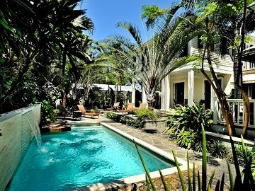 Key West house rental - Your own private piece of paradise, lushly landscaped and thoughtfully designed.