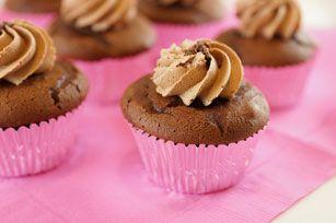 Petits gâteaux double chocolat au beurre d'arachide - Préparez cette gâterie pour maman et vous serez le favori de ses enfants!