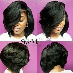 Love this voluminous bob via @cocostylezem - http://community.blackhairinformation.com/hairstyle-gallery/short-haircuts/love-voluminous-bob-cocostylezem/