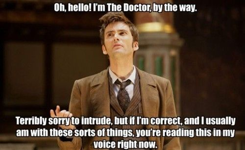 Doctor WhoThe Doctors, Funny Pictures, Doctorwho, Tenth Doctor, Doctors Who, 10Th Doctors, David Tennant, True Stories, Davidtennant