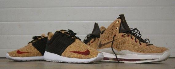Nike Roshe Run FB   Cork | By AMAC Customs