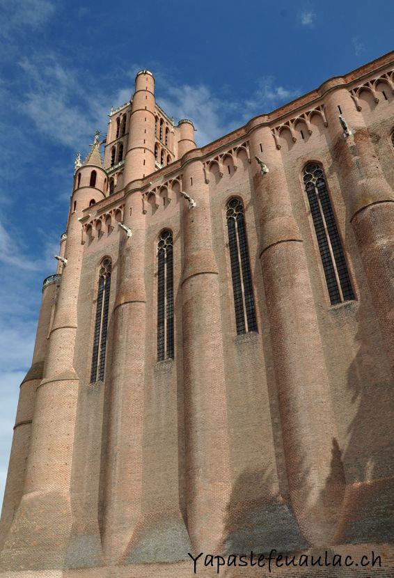 La monumentale cathédrale Sainte-Cécile, monument incontournable d'Albi