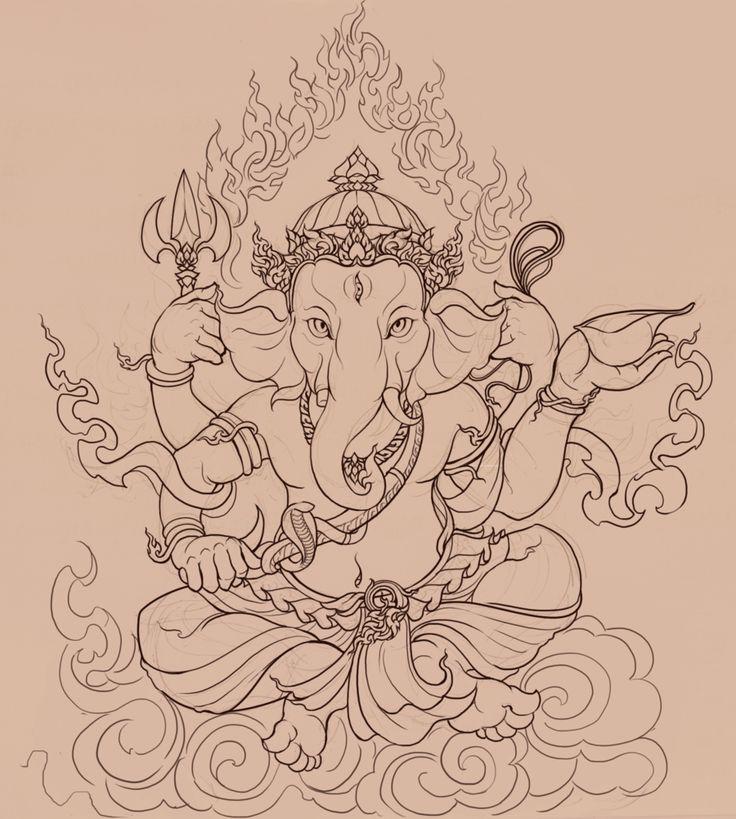 Ganesha by PinGponG83.deviantart.com on @DeviantArt