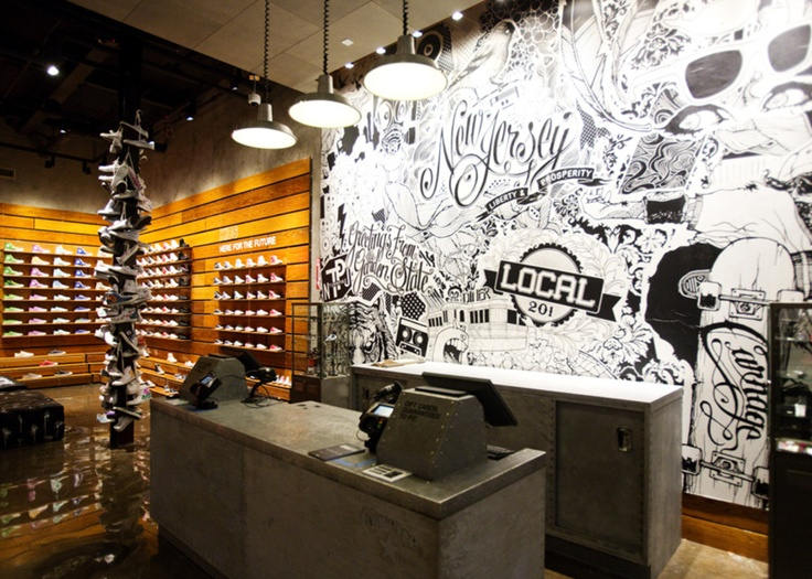 Billionaire Kicks – Converse Opens First Mall-Based Retail Store in New  Jersey