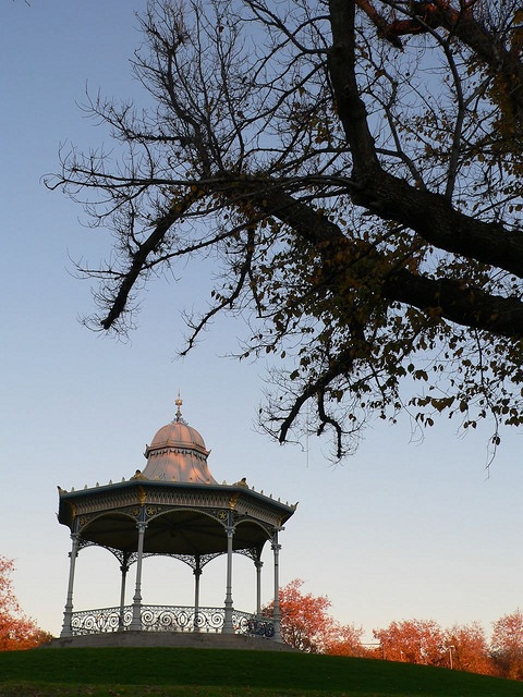 Elder Park Rotunda, Adelaide, South Australia. I have sat here many times, enjoying the view...