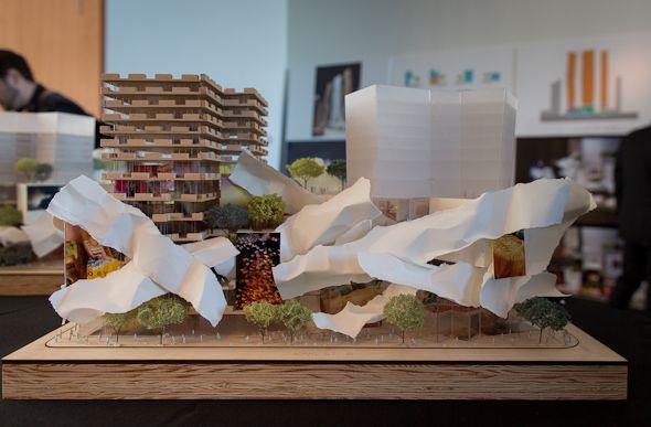 Mirvish Gehry Condos - Street view