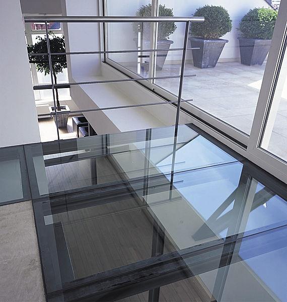 panel de vidrio laminado (para suelo) Stadip Floor Glassolutions