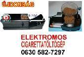 ELEKTROMOS CIGARETTA TÖLTŐ GÉP ELADÓ Újdonság egy doboz cigaretta elkészíthető kb 3- 4 perc alatt.Könnyű kezelhetőség, gyors és praktikus.
