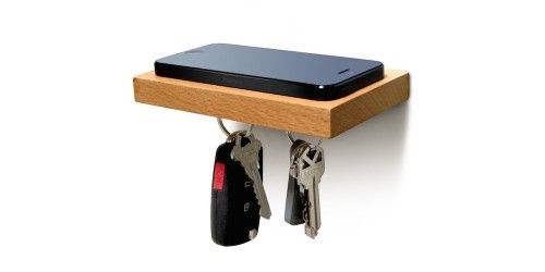 The Plank Gives Your iPhone And Keys A Home By The Door