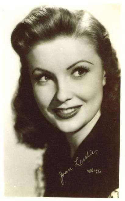 Joan Leslie....what a beauty. Obsessed!!