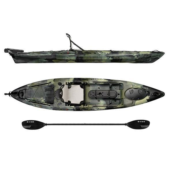 Sea Ghost 130 Angler Kayak Package | Fishing | Angler kayak