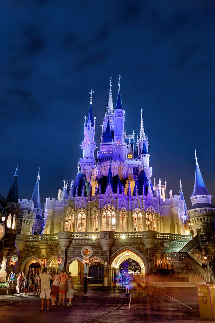 Cinderella Castle HDR from a photowalk Friday night with Trey Ratcliff and some great FL photogs