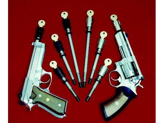 Gun Safety Locks : Best images about gun safety devices on pinterest
