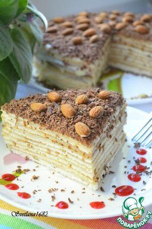 "Торт ""Нежность"" (на сковороде)"