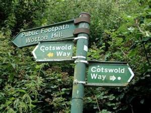 The Cotswold Way runs through Wotton-Under-Edge and our land here at Lovettswood Farm!