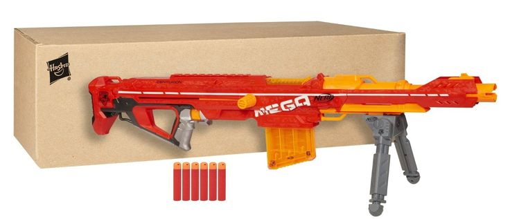Nerf Centurion MEGA Sniper Rifle - Is it the best Nerf sniper rifle ever? Come inside to see once and for all if size really matters.