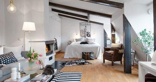 """Ο """"παράδεισος"""" σε 44τ.μ.! Δείτε ένα ΕΚΠΛΗΚΤΙΚΟ διαμέρισμα από τη Σουηδία"""