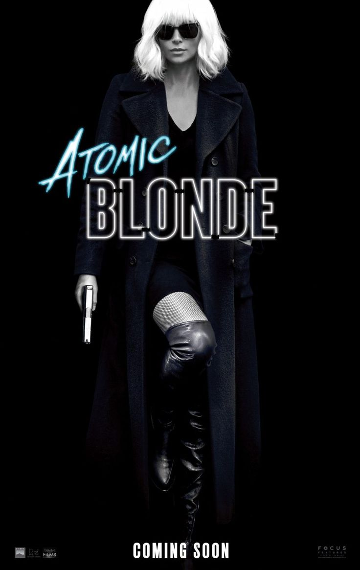 Check out Charlize Theron on the Atomic Blonde poster | Live for Films