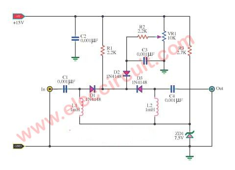 5 Radio Frequency Circuit Diagrams Radio Frequency Circuit