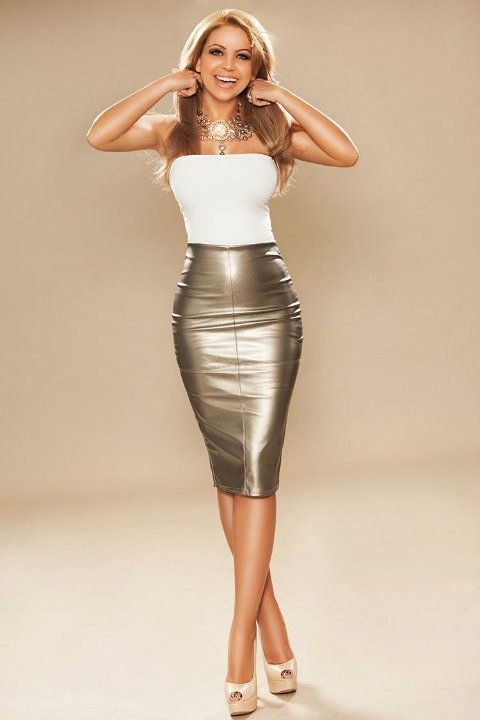 pencil skirt high heels