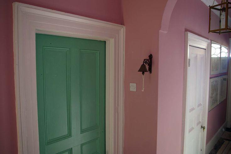 Walls - Cinder Rose 246  Door - Arsenic 214
