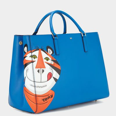 Anya Hindmarch Autumn Winter 2014, Frosties Maxi Featherweight Ebury