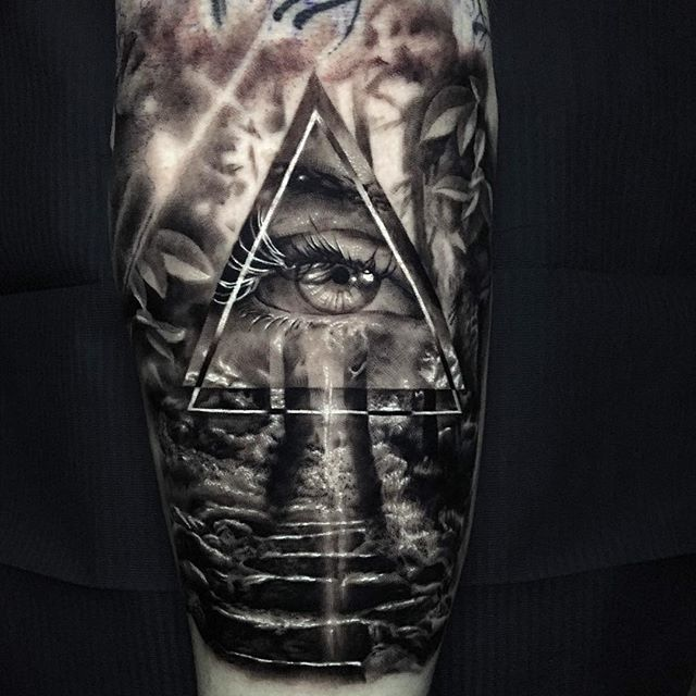 Ash Higham All Seeing Eye Tattoo All Seeing Eye Tattoo Eye Tattoo Sleeve Tattoos