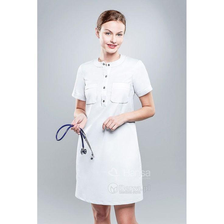 Sukienka Medyczna Hansa 0210 - Dersa