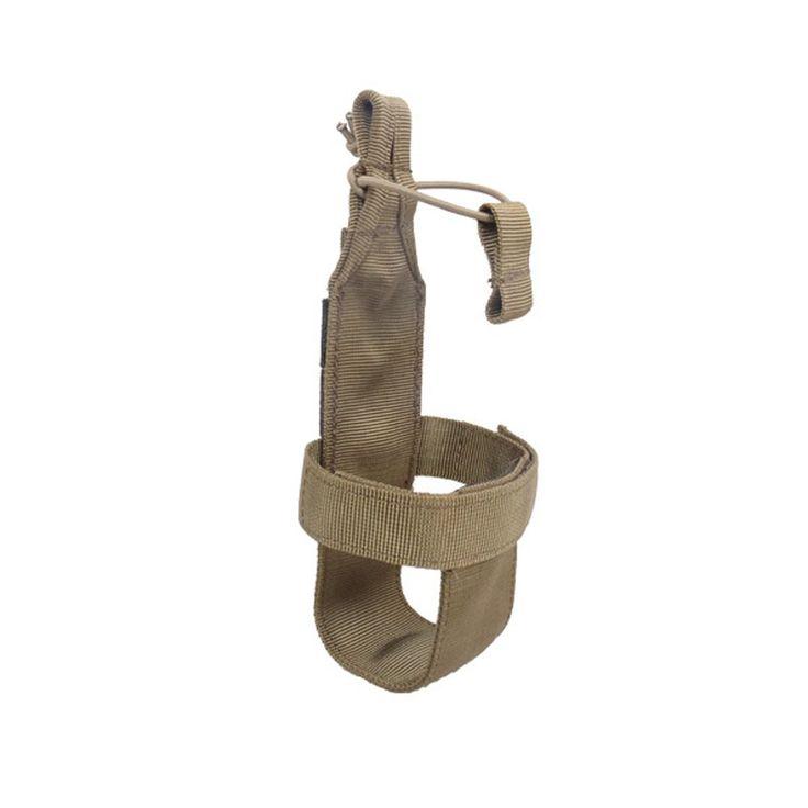 10 OFF on OneTigris Minimalist Tactical Molle Water Bottle Holder Belt Bottle Carrier (Tan) Only Tan