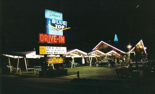 Blue Top Drive-in, Highland Indiana