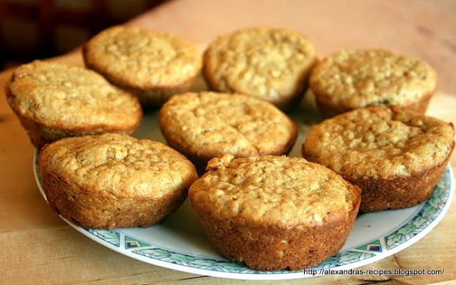Aleksandra's Recipes: MOROCCAN OATMEAL MUFFINS