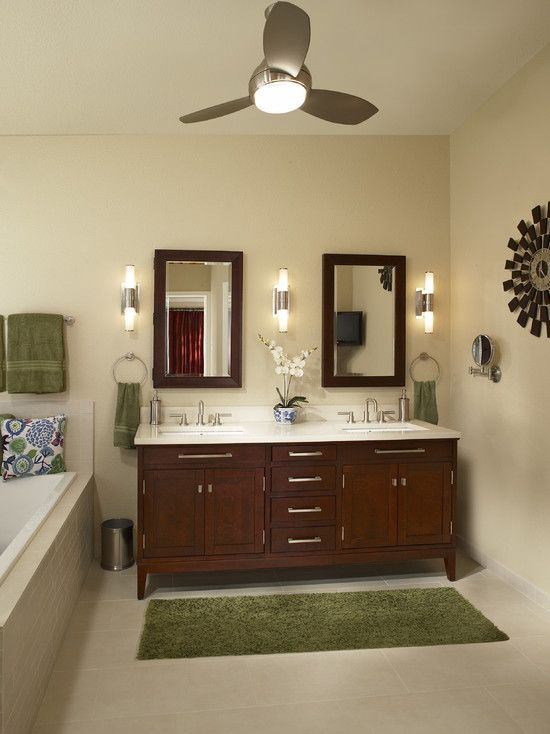 bathroom vanity dbl sinks dbl mirrors like look but in white faucets