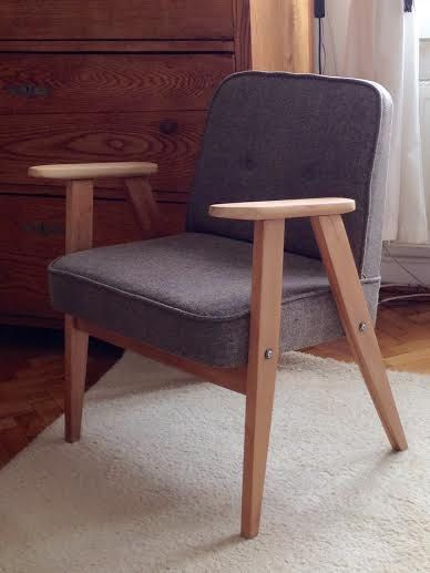 Retro mid century armchair by ByBeeSee on Etsy