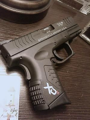 Springfield Armory XDm Custom Handgrip LogosLoading that magazine is a pain! Excellent loader available for your handgun Get your Magazine speedloader today! http://www.amazon.com/shops/raeind